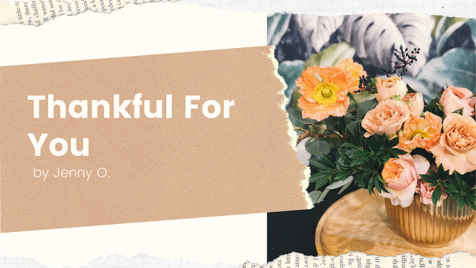 Thanksgiving Blog Post by Jenny Ochoa