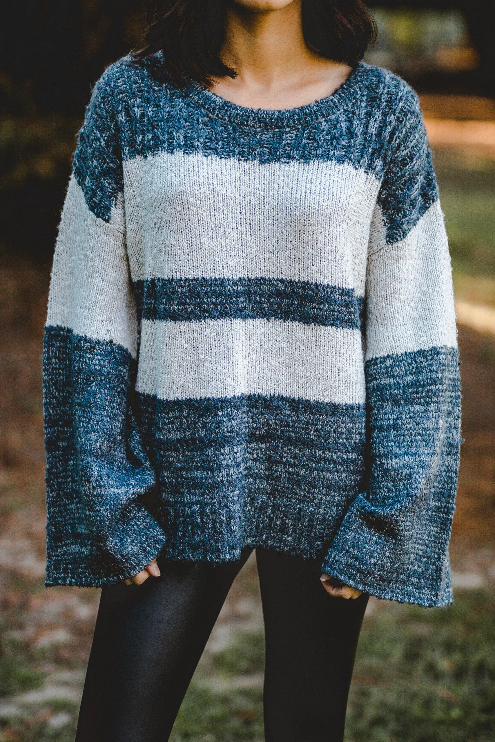 Striped fall sweater | Carolmine