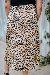 Leopard Print Skirt Carolmine Small Business in Long Beach