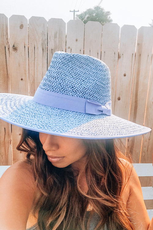Poderosa Fedora In Powder Blue