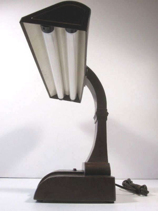 Vintage Fluorescent Desk Lamp – Shop-Uniques-Unlimited