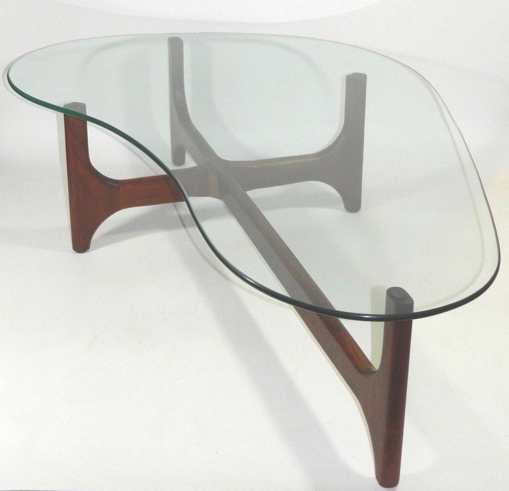 Pleasing Teak Coffee Table Mid Century Modern Furniture Home Interior And Landscaping Oversignezvosmurscom