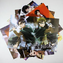 Attack On Titan Posters 8 Pcs/Set