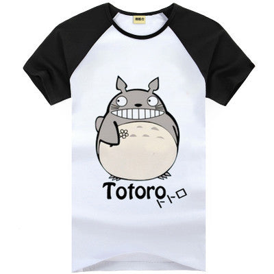 Totoro Cute Kawaii Short Sleeve T-Shirt V1