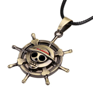 One Piece Skull Luffy Pendant Necklace