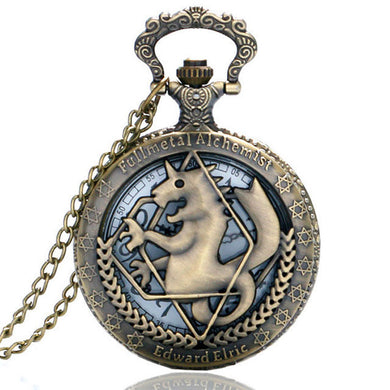 Fullmetal Alchemist Anime Pocket Watch
