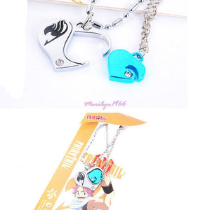 Fairy Tail Lucy Heart Combo Necklace