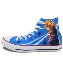 Dragon Ball Z Super Saiyan Gohan Hand Painted Sneaker Shoes