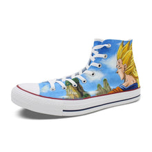 Dragon Ball Z Son Goku Hand Painted Sneaker Shoes