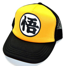 Dragonball Z Black/Yellow Snapback Baseball Anime Hat