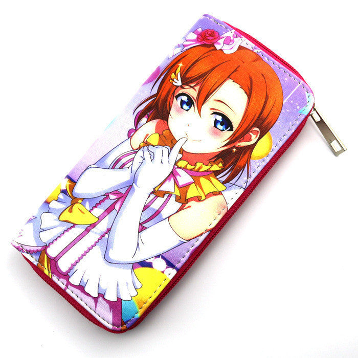 Love Live! Anime Long Style Wallet Purse