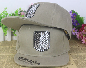 Attack On Titan Snapback Baseball Anime Hat