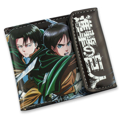 Attack On Titan Kyojin & Mikasa Short Style Anime Wallet