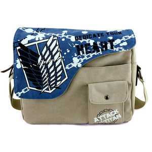 Attack On Titan Dedicate Your Heart Anime Shoulder Bag