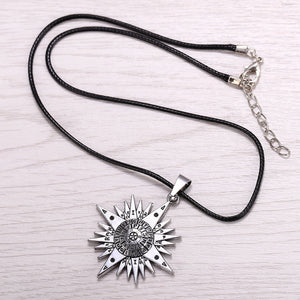 Black Butler Pendant Necklace