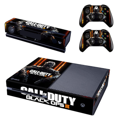 Call Of Duty III Xbox One Protective Vinyl Skin 2 Controllers