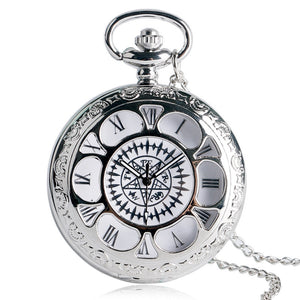 Black Butler Anime Pocket Watch