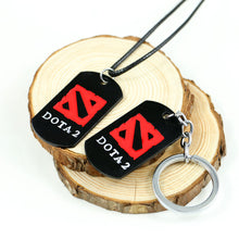 DOTA 2 Logo Metal Alloy Necklace