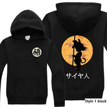 Dragon Ball Z Son Goku Hoodie 4 Colors