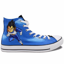 Dragon Ball Z Vegeta & Goku Hand Painted Sneaker Shoes