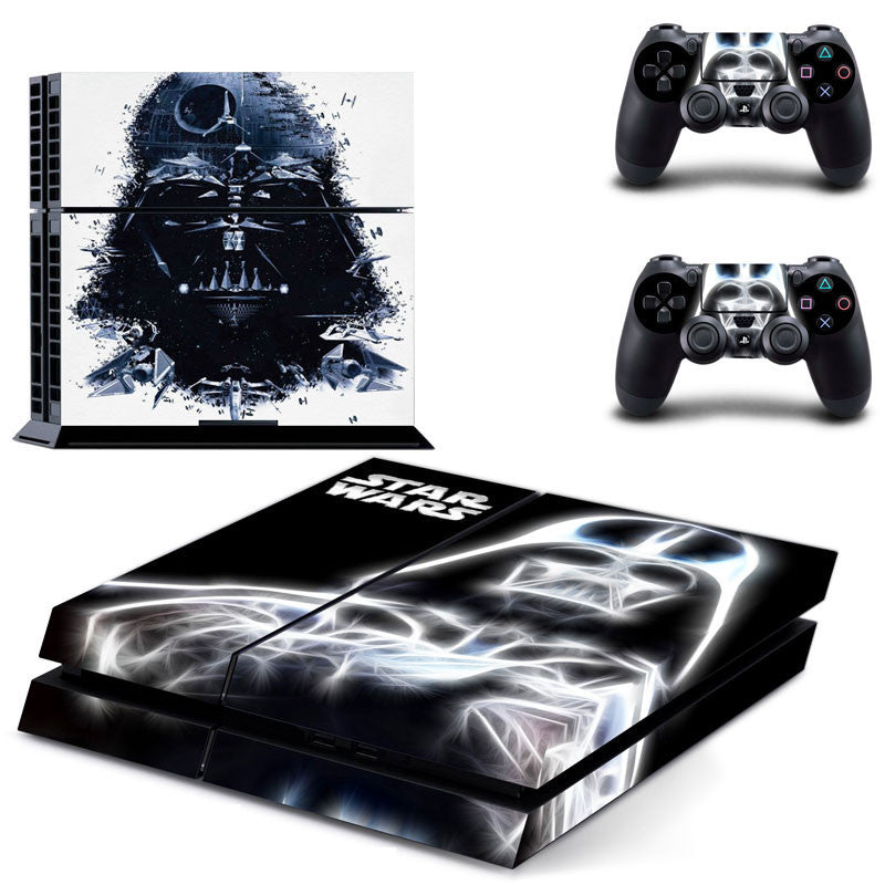 Star Wars Darth Vader Millennium Falcon Protective Vinyl Skin 2 Controllers
