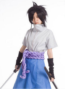 Naruto 4th Generation Sasuke Uchiha Cosplay Costume