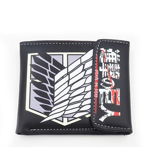 Attack On Titan Scout Regiment Wings Of Liberty Wallet Purse