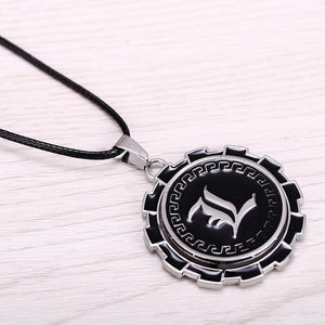 Death Note Metal Gear Anime Necklace