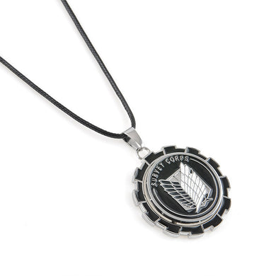 Attack On Titan Metal Gear Survey Corps Necklace