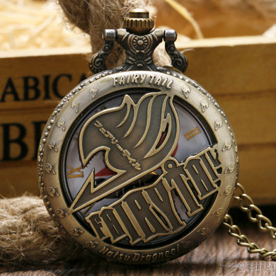 Fairy Tail Anime Pocket Watch