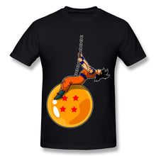 Dragonball Z Funny Goku Wrecking Ball Parody T-Shirt