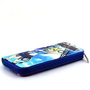 Fairy Tail Colorful Long Style Wallet Purse