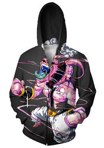 Classic Anime Dragon Ball Super Saiyan 3D Hoodies 14 Styles
