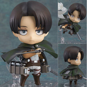 Attack On Titan Chibi Levi Rivaille Rival Ackerman Action Figure Toy