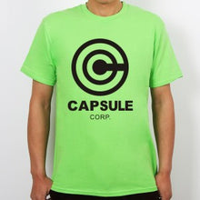 Dragon Ball Z Capsule Corp T-Shirts Anime