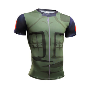 Naruto Armor Cosplay Fitness Men T-Shirts (10 Styles)