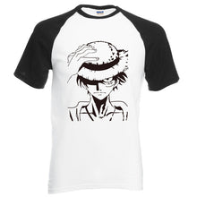 Anime One Piece Luffy Cotton HQ T-Shirt 6 Colors