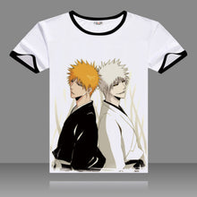 Bleach O-Neck Anime T-Shirt Ichigo Kurosaki 12 Colors