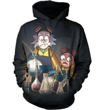 Rick And Morty Funny Sweatshirt Lab Hoodie