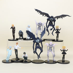 Death Note 6 Piece Set Action Figure Kira Ryuk Misa Amane L. Lawliet