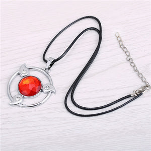 Naruto Metal Sharingan Pendant Necklace
