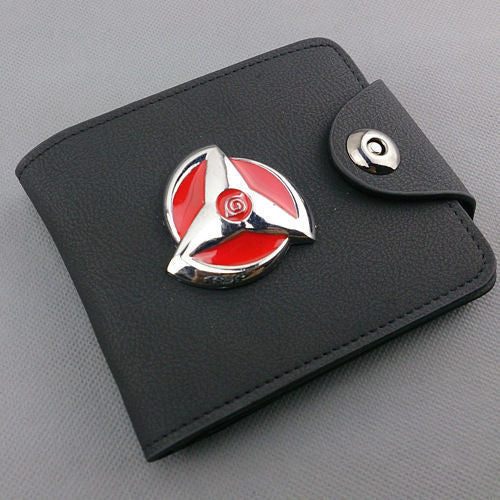 Naruto Hatake Kakashi Leather Wallet