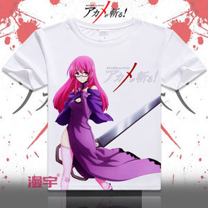 Akame Ga Kill Short Sleeve Anime T-Shirt V10