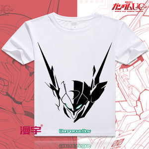Gundam Short Sleeve Anime T-Shirt V10