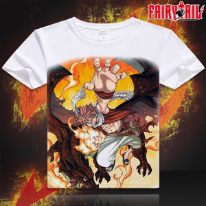 Fairy Tail Short Sleeve Anime T-Shirt V13