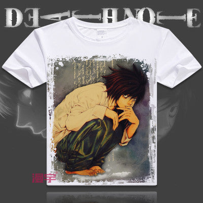 Death Note Short Sleeve Anime T-Shirt V15