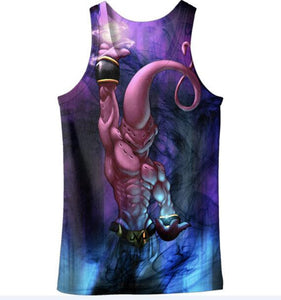 Dragon Ball Z Graphic Summer Anime Tank Top V17