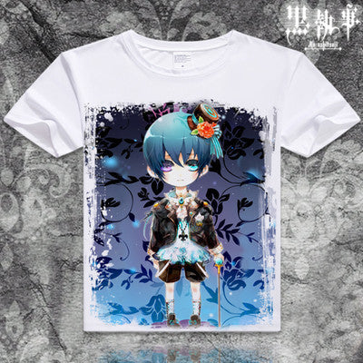 Black Butler Short Sleeve Anime T-Shirt V19
