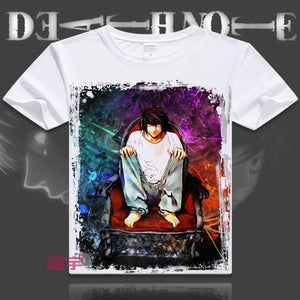 Death Note Short Sleeve Anime T-Shirt V1