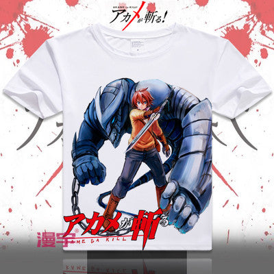 Akame Ga Kill Short Sleeve Anime T-Shirt V20